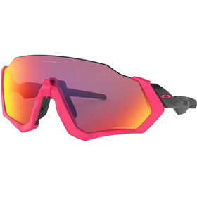 Oakley Flight Jacket Sunglasses Neon Pink/Prizm Road